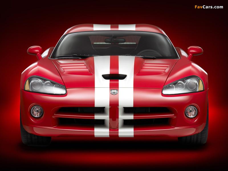 Dodge Viper SRT10 Coupe 2008–10 pictures (800 x 600)