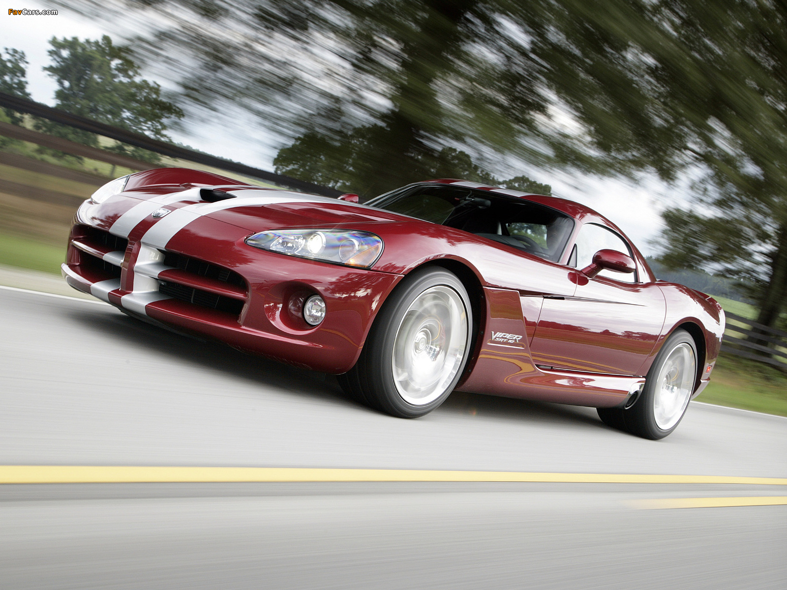 Dodge Viper SRT10 Coupe 2008–10 wallpapers (1600 x 1200)