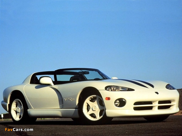 Images of Dodge Viper RT/10 1996–2002 (640 x 480)