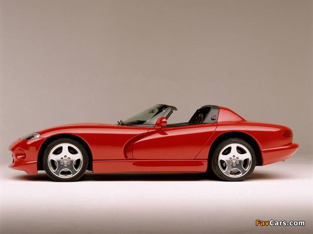 Photos of Dodge Viper RT/10 1996–2002 (640 x 480)