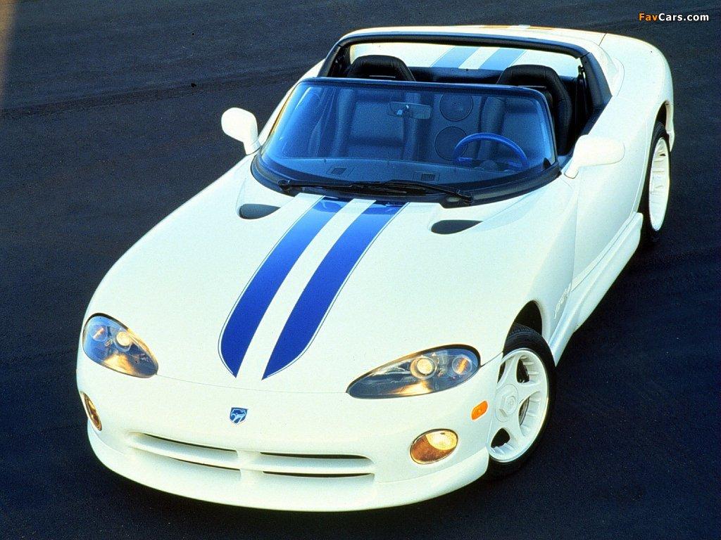 Photos of Dodge Viper RT/10 1996–2002 (1024 x 768)