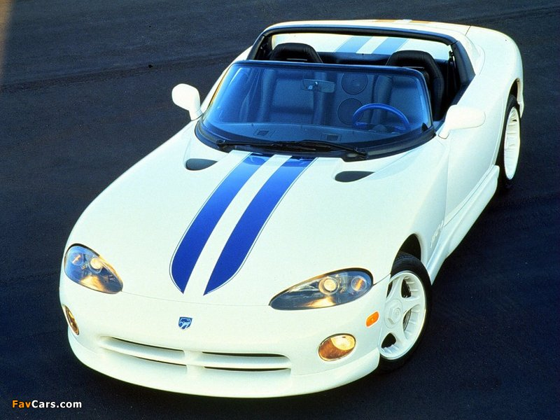 Photos of Dodge Viper RT/10 1996–2002 (800 x 600)