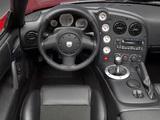 Photos of Dodge Viper SRT10 Roadster 2008–10