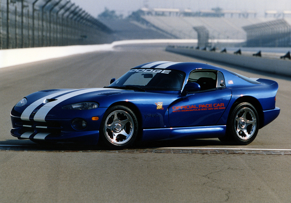 Pictures of Dodge Viper GTS Indy 500 Pace Car 1996