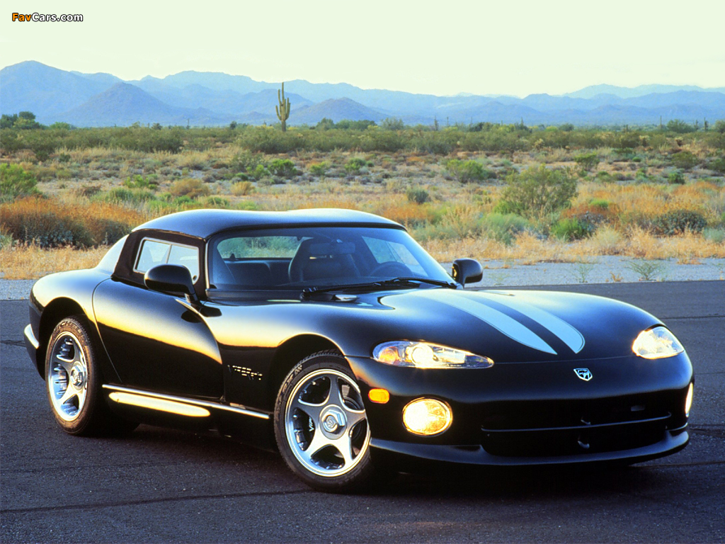 Pictures of Dodge Viper RT/10 1996–2002 (1024 x 768)
