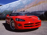 Pictures of Dodge Viper SRT10 Convertible 2003–07