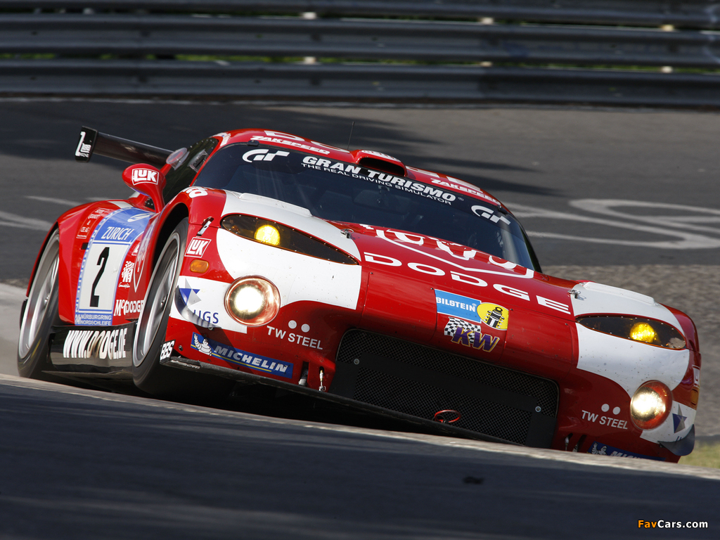 Pictures of Dodge Viper GTS-R 2008–10 (1024 x 768)