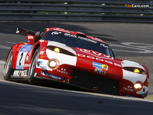 Pictures of Dodge Viper GTS-R 2008–10 (640 x 480)