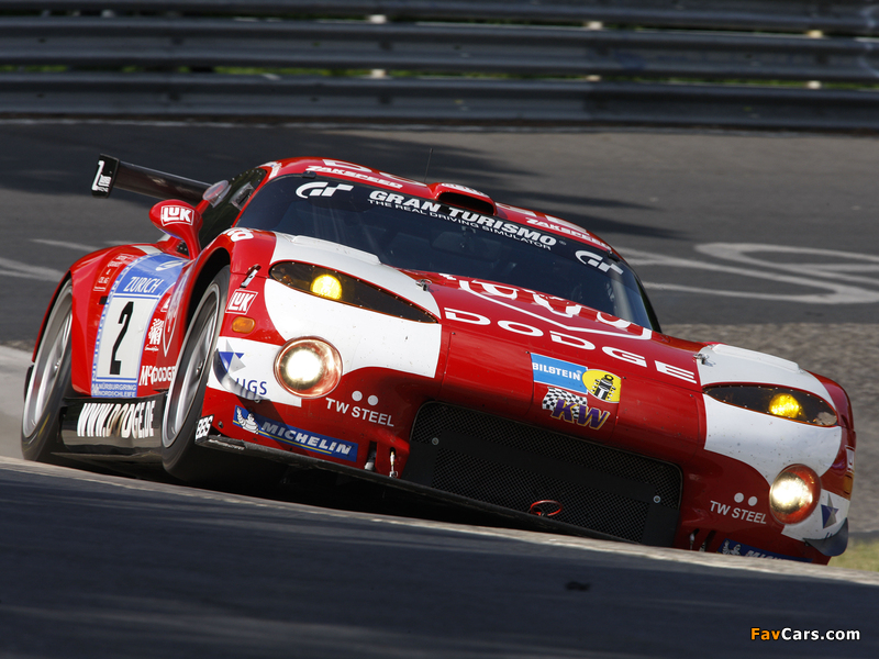 Pictures of Dodge Viper GTS-R 2008–10 (800 x 600)