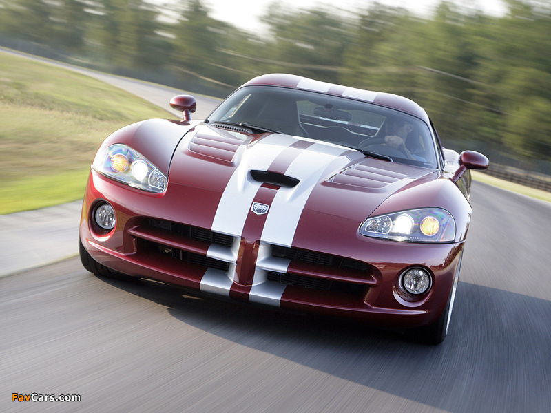 Pictures of Dodge Viper SRT10 Coupe 2008–10 (800 x 600)