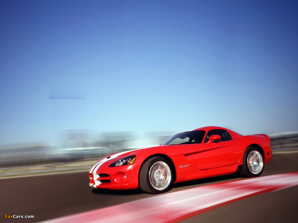 Pictures of Dodge Viper SRT10 Coupe 2008–10 (1024 x 768)