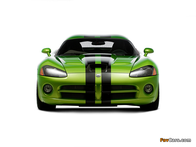 Pictures of Dodge Viper SRT10 Coupe 2008–10 (640 x 480)