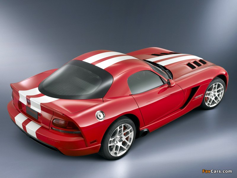 Dodge Viper SRT10 Coupe 2008–10 wallpapers (800 x 600)