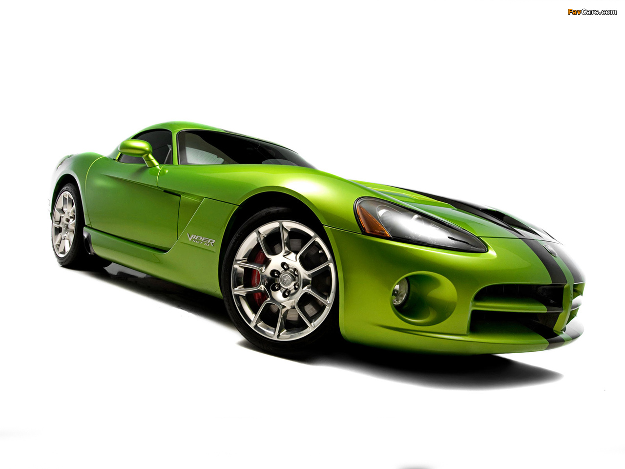 Dodge Viper SRT10 Coupe 2008–10 wallpapers (1280 x 960)