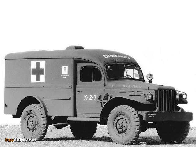 Dodge WC-54 Ambulance by Wayne (T214) 1942–44 images (640 x 480)