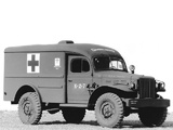Dodge WC-54 Ambulance by Wayne (T214) 1942–44 images