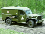 Dodge WC-54 Ambulance by Wayne (T214) 1942–44 pictures