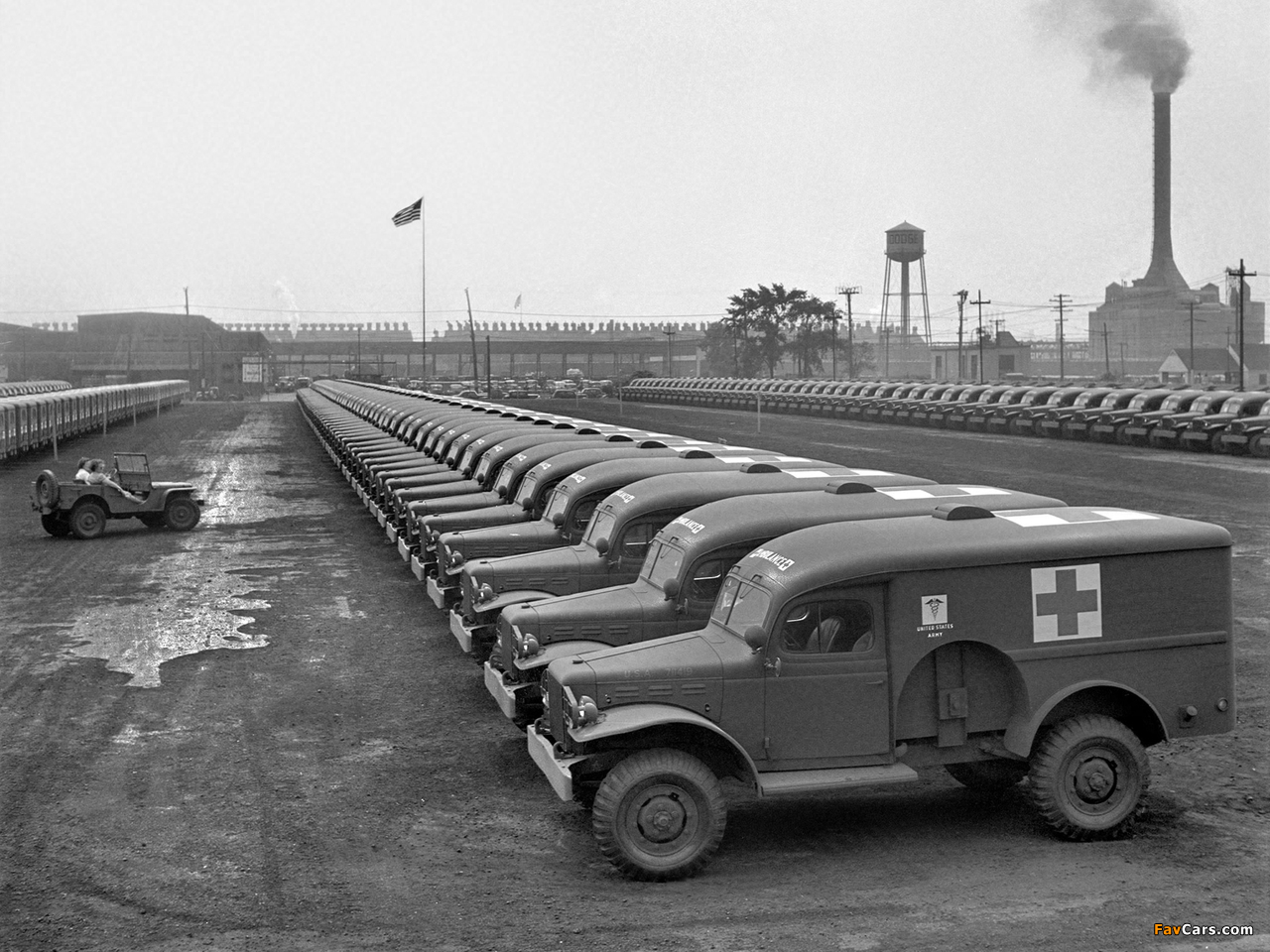 Images of Dodge WC-54 Ambulance by Wayne (T214) 1942–44 (1280 x 960)