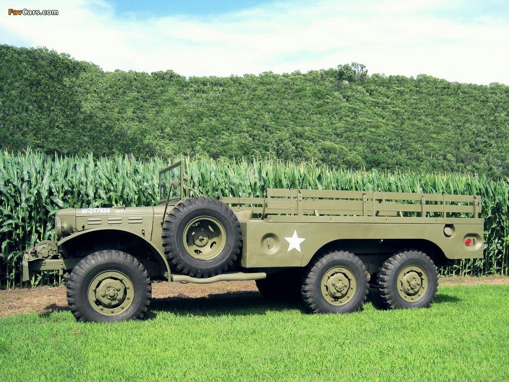 Photos of Dodge WC-63 (T223) 1942–45 (1024 x 768)