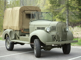 Pictures of Dodge T202 VC-5 Open Cab Weapons Carrier 1940