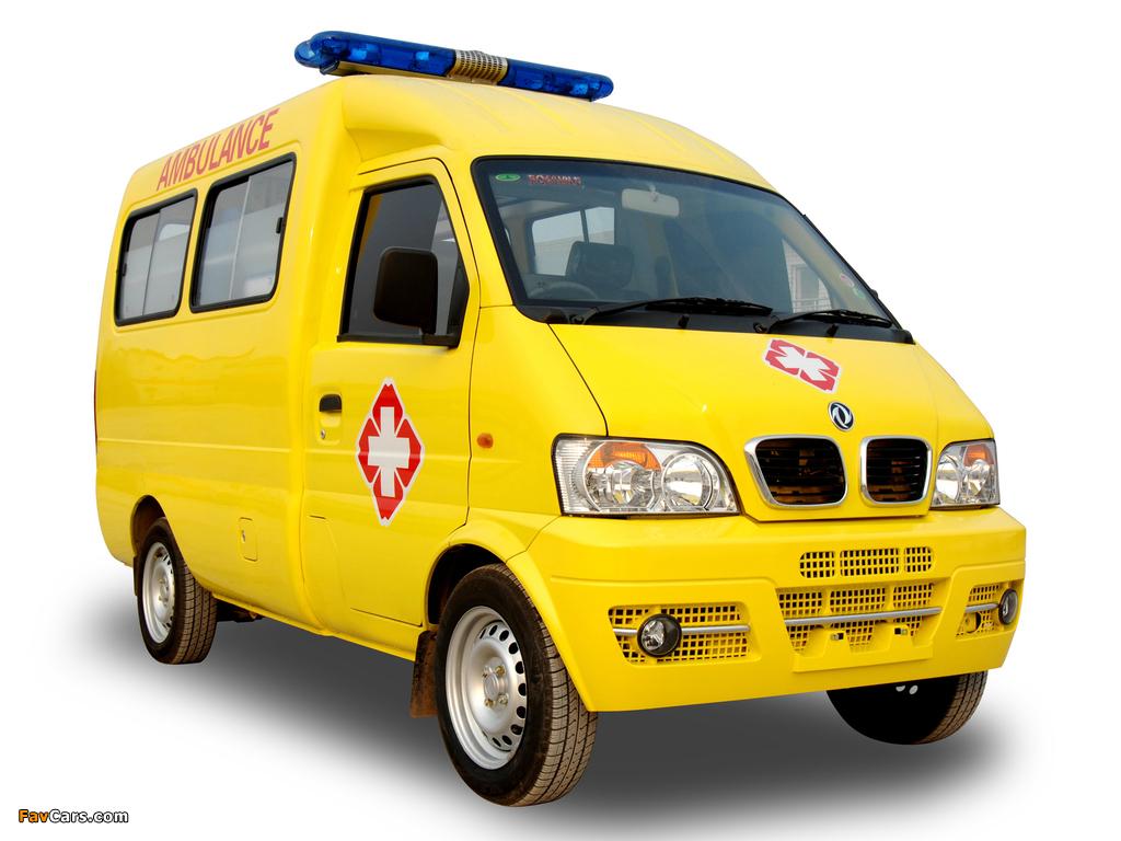 DongFeng Mini MPV Ambulance (EQ6410LF) 2008 images (1024 x 768)