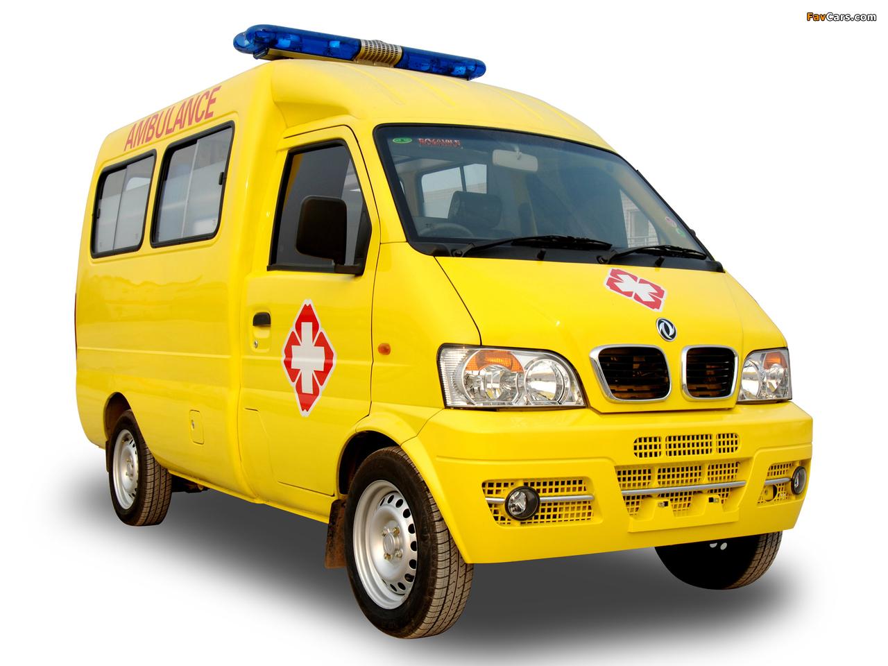 DongFeng Mini MPV Ambulance (EQ6410LF) 2008 images (1280 x 960)