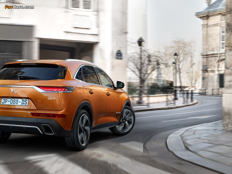 DS 7 Crossback (X74) 2017 pictures (800 x 600)