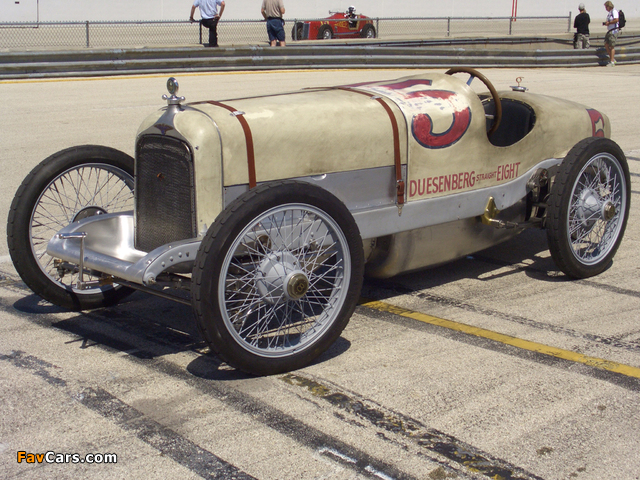 Pictures of Duesenberg Indy 500 Race Car 1921 (640 x 480)