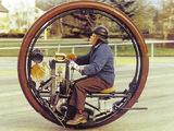 Photos of Edison-Punton Monowheel (1910)