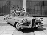Edsel Citation Convertible 1958 pictures