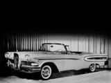 Edsel Citation Convertible 1958 wallpapers