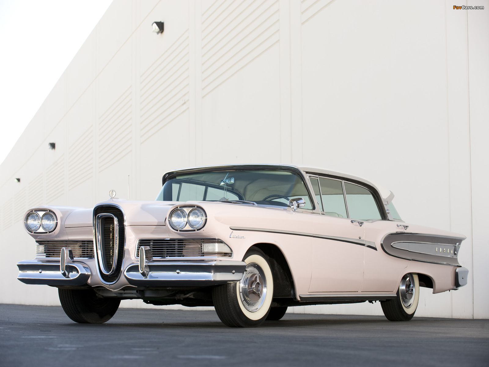 Edsel Citation 4-door Hardtop 1958 wallpapers (1600 x 1200)