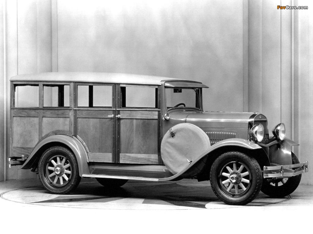 Essex Super Six Depot Station Wagon 1930– wallpapers (1024 x 768)