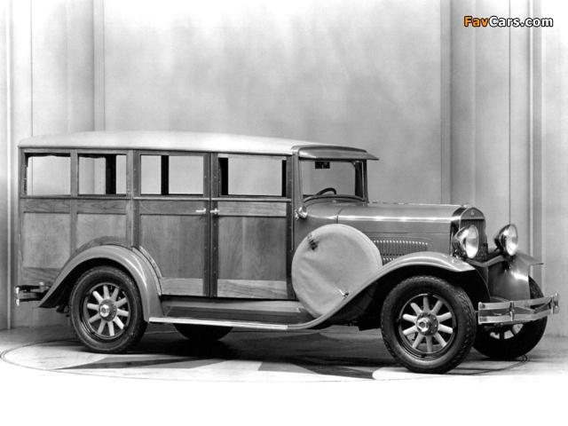 Essex Super Six Depot Station Wagon 1930– wallpapers (640 x 480)