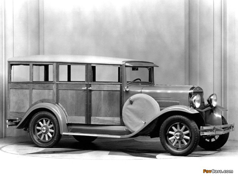 Essex Super Six Depot Station Wagon 1930– wallpapers (800 x 600)