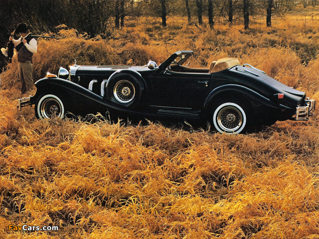 Excalibur Series IV Roadster 1980–87 pictures (640 x 480)