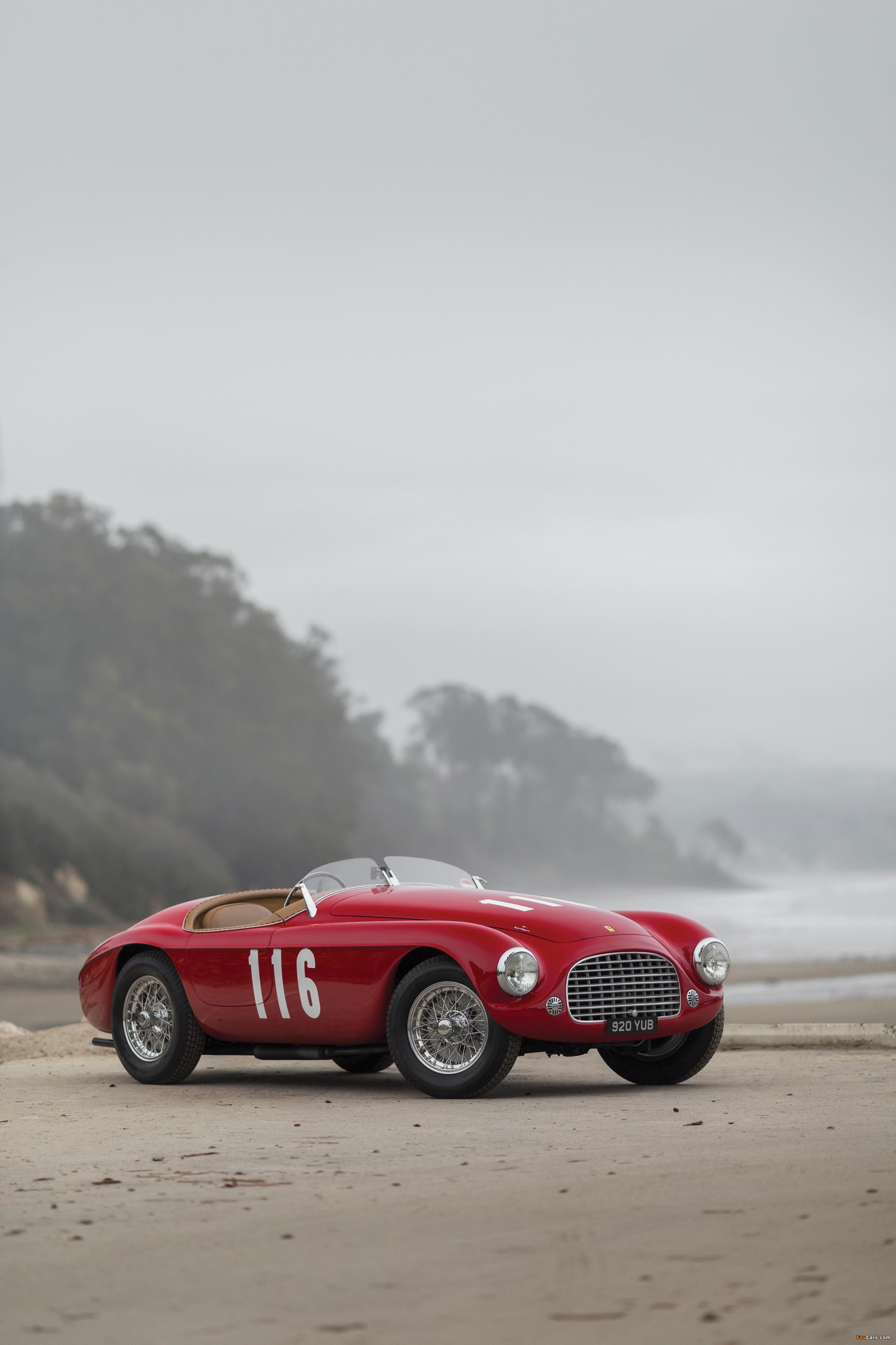Ferrari 166 MM Barchetta (#0058M) 1950 photos (2666 x 4000)