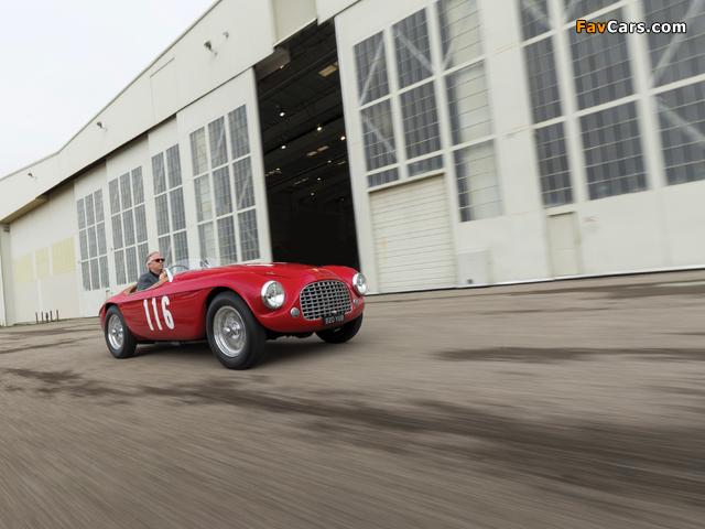 Images of Ferrari 166 MM Barchetta (#0058M) 1950 (640 x 480)