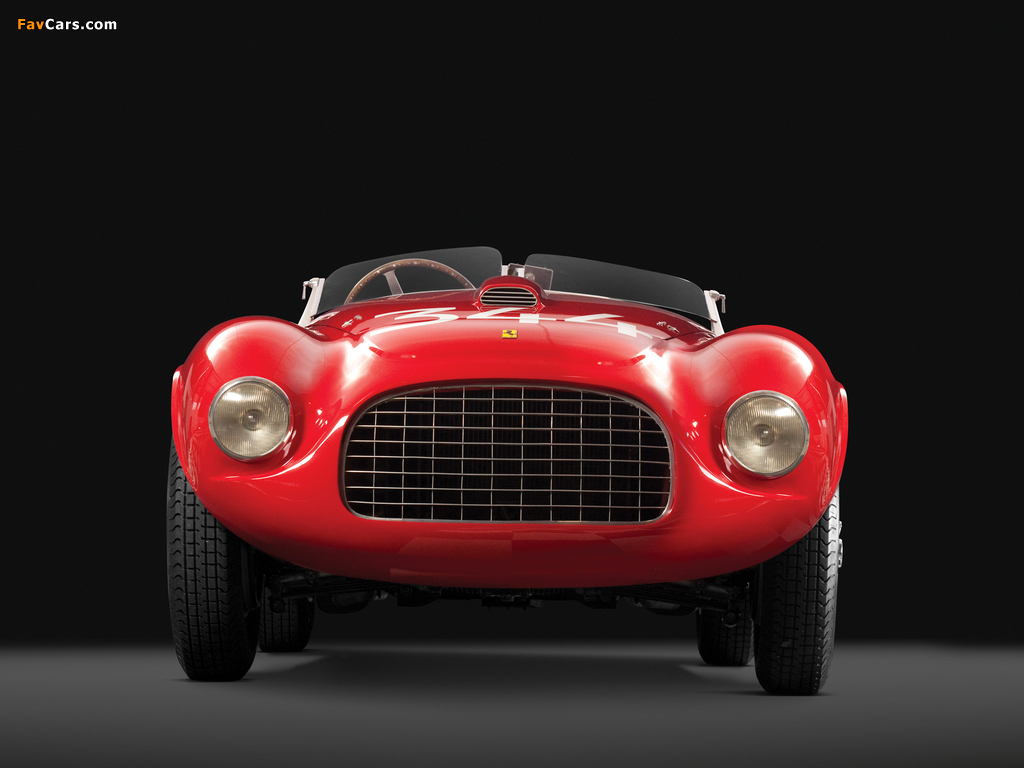 Ferrari 166 MM Touring Barchetta 1948–50 wallpapers (1024 x 768)