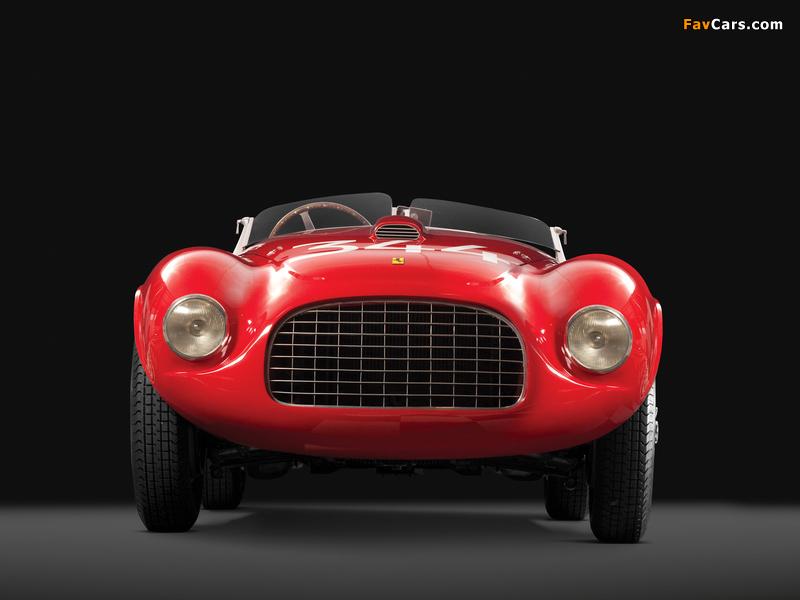 Ferrari 166 MM Touring Barchetta 1948–50 wallpapers (800 x 600)