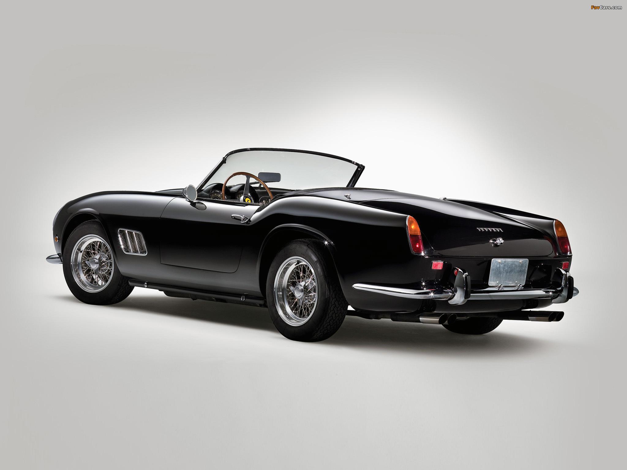 Ferrari 250 Gt Swb California Spyder Covered Headlight 1960 63