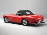 Ferrari 250 GT SWB California Spyder (covered headlight) 1960–63 photos