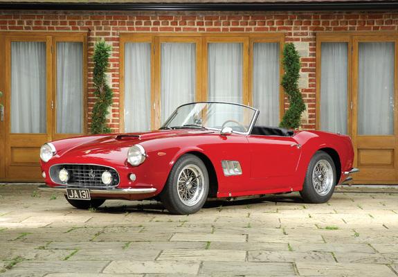 Ferrari 250 Gt Swb California Spyder Open Headlights 1960 63 Wallpapers