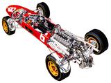 Ferrari 312 1966 wallpapers