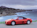 Pictures of Ferrari 348 Spider 1993–95