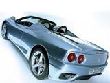 Ferrari 360 Spider 2000–05 images