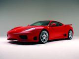 Novitec Rosso Ferrari 360 Modena Super Sport 2003–04 wallpapers