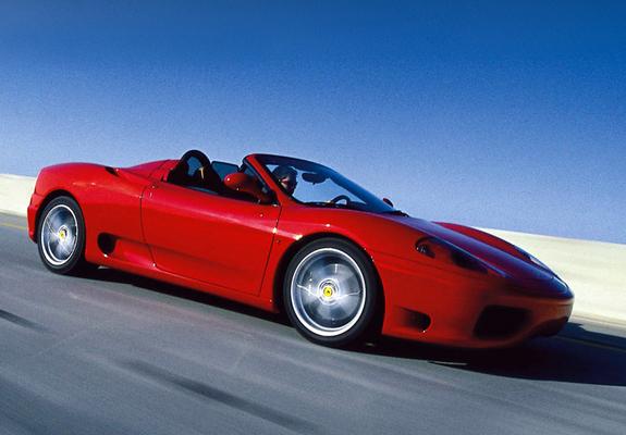 Photos Of Ferrari 360 Spider 200005