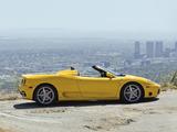 Pictures of Ferrari 360 Spider US-spec 2000–05
