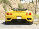 Ferrari 360 Spider US-spec 2000–05 wallpapers
